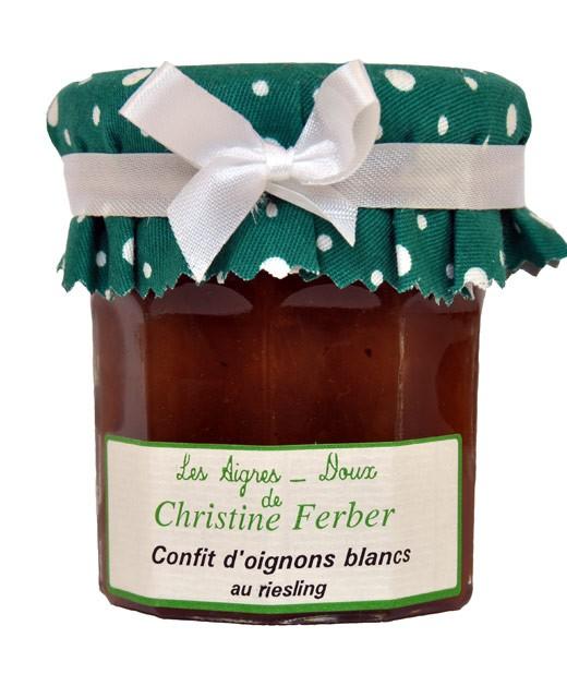 Confit d'oignons blancs au riesling - Christine Ferber