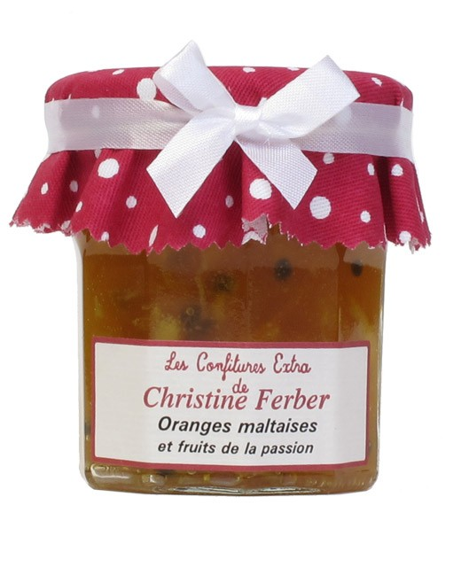 Confiture d'orange et fruits de la passion - Christine Ferber