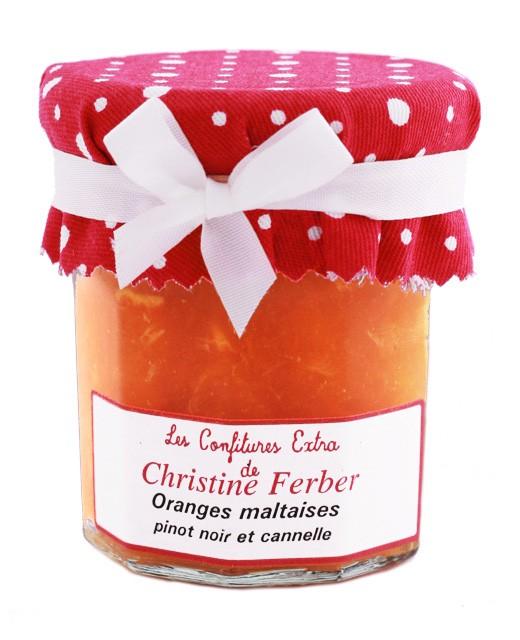 Confiture d'oranges au pinot noir et à la cannelle - Christine Ferber