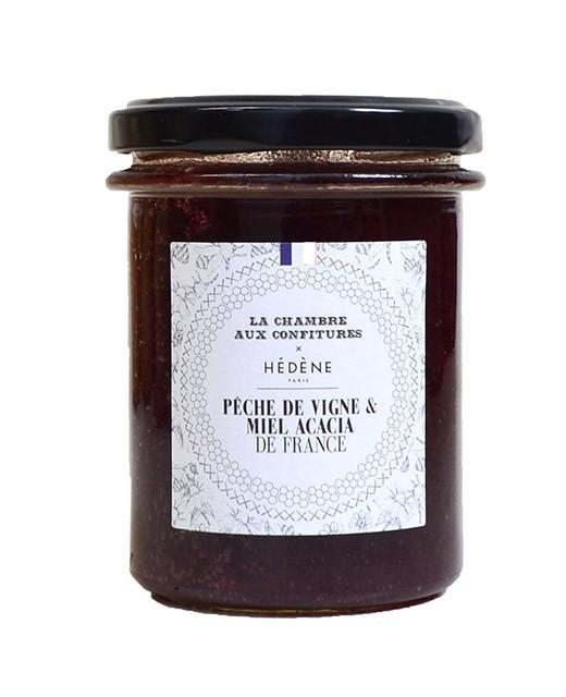 Délice pêche de vigne et miel d'acacia - Hédène