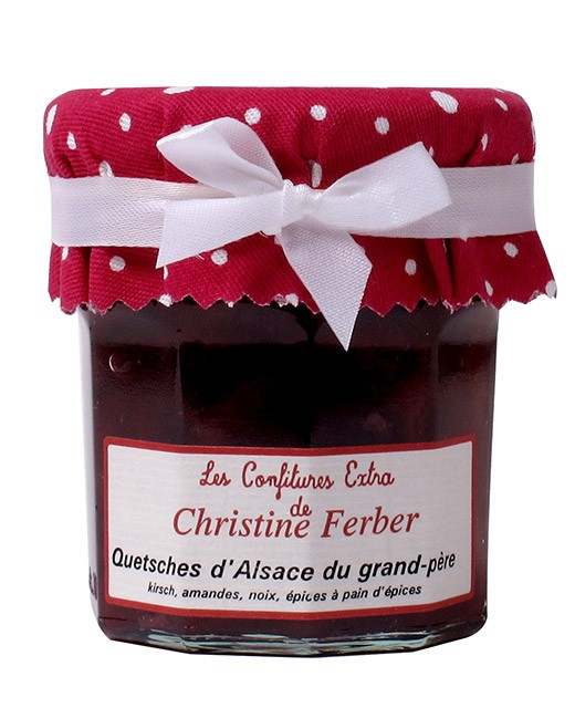 Confiture de quetsches du grand-père - Christine Ferber