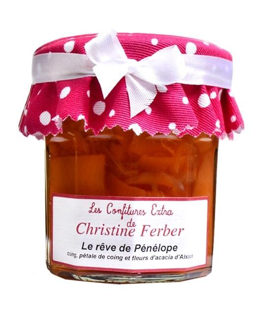 Confiture Le rêve de Pénélope - coing, pétales de coing et fleurs d'acacia - Christine Ferber