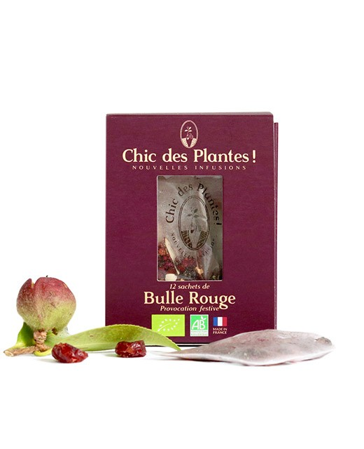 Infusion Bulle Rouge - Chic des Plantes