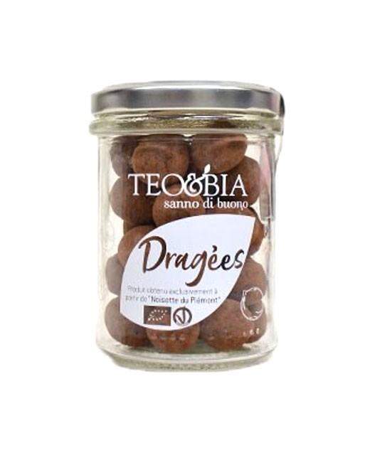Dragées chocolat - noisette - Teo & Bia