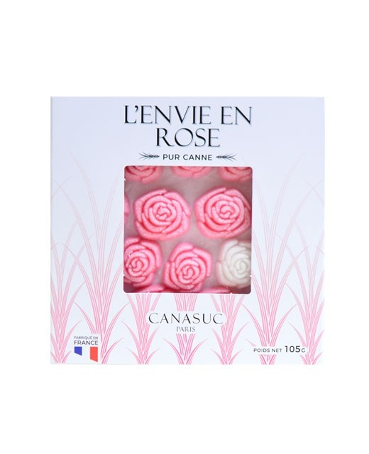 Sucre moulé - rose - Canasuc