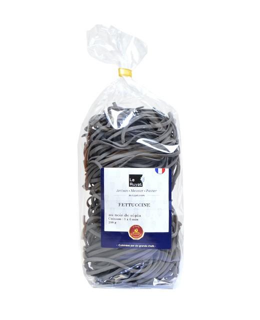 Fettuccine au noir de sépia - Le Ruyet