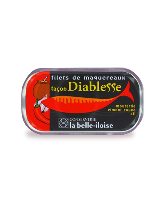 Filets de maquereaux façon Diablesse - La Belle-Iloise