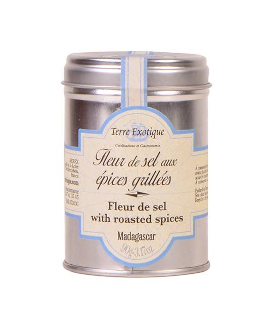 Fleur de sel aux pices grill es terre exotique ed lices - Fleur de sel aux epices grillees ...