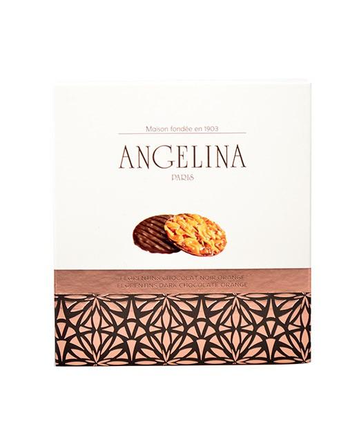 Florentins noir orange - Angelina