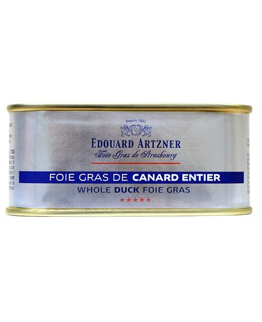 Foie gras de canard entier 200 g - Edouard Artzner