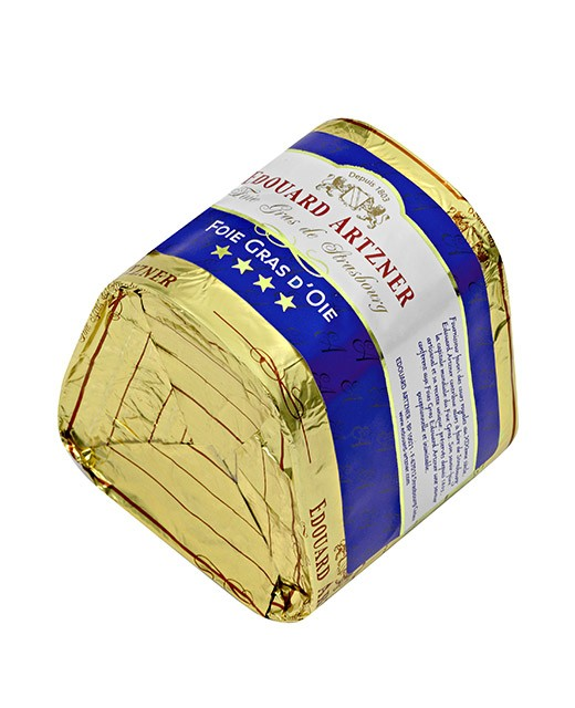 Foie gras d'oie trapèze 550g - Edouard Artzner