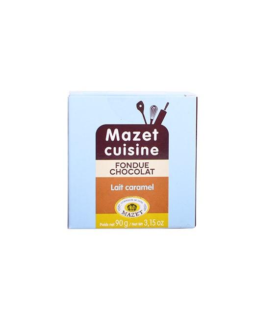 Fondue au chocolat - Lait et Caramel - Mazet