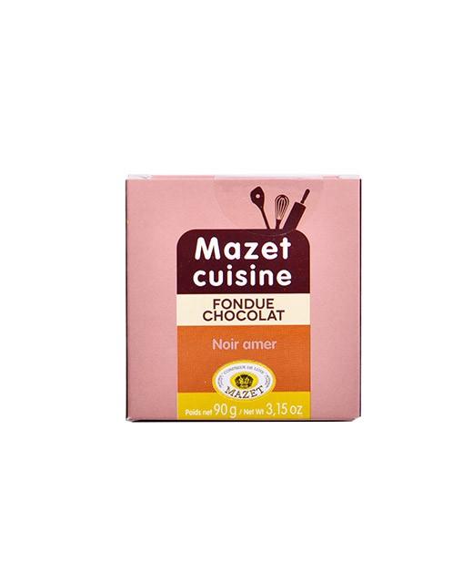 Fondue au chocolat - Noir Amer - Mazet