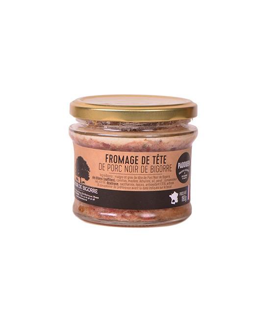Fromage de tête de porc noir de Bigorre - Padouen