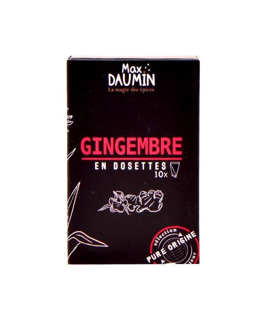Gingembre - dosettes fraîcheur - Max Daumin