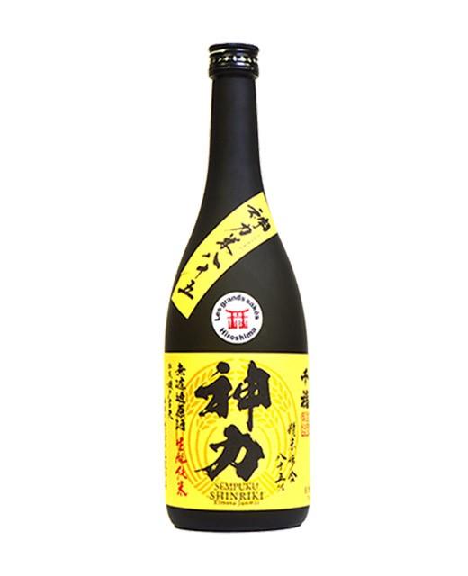 Saké Sempuku Shinriki Kimoto Junmai - 72cl - Miyake Honten