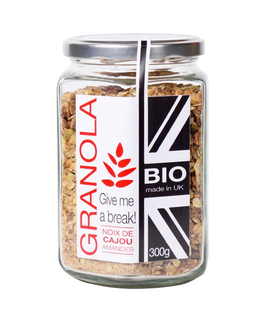 Granola bio - Noix de cajou et amandes - Terre de Pépites