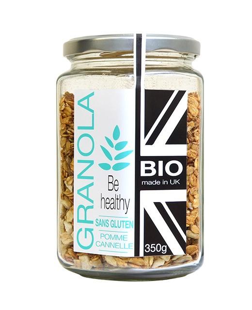 Granola bio et sans gluten - Pomme Cannelle - Terre de Pépites