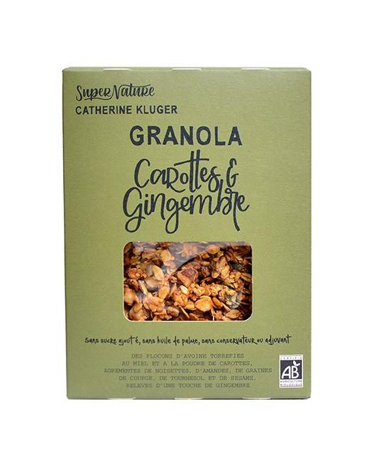 Granola sucré-épicé carotte & gingembre - Recette n°5 - Catherine Kluger