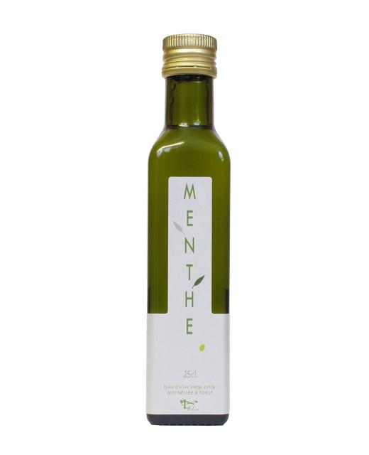 Huile d'olive à la menthe - Libeluile