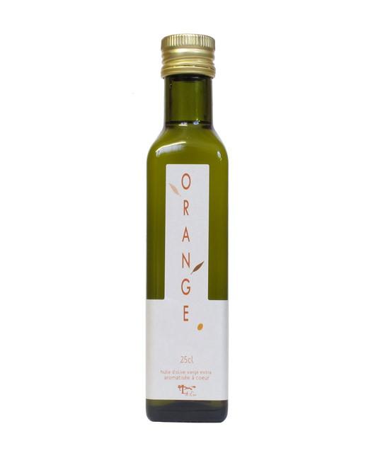 Huile d'olive à l'orange - Libeluile