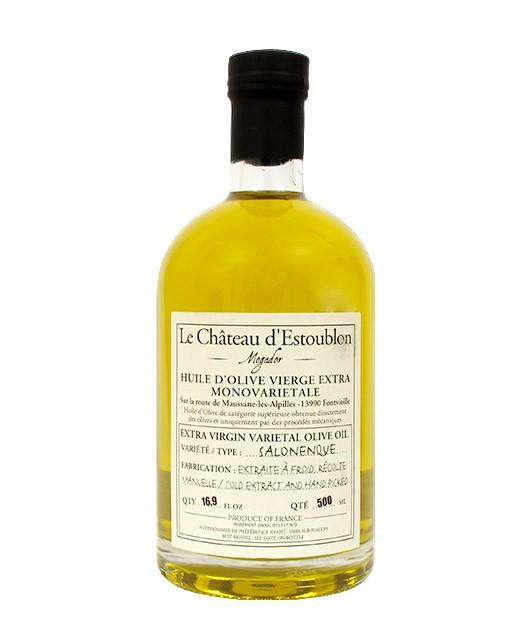 Huile d'olive vierge extra - Salonenque 100% - Château d'Estoublon