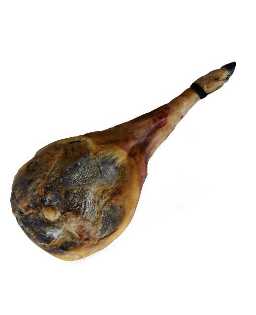 Jambon de porc noir de Bigorre 24 mois - avec os et avec couenne - Padouen