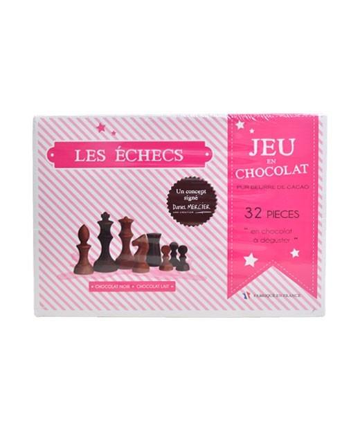 Jeu d'échecs en chocolat  - Chocolaterie Daniel Mercier