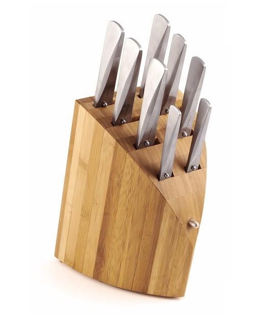 Bloc bambou démontable et ses 8 couteaux - Chroma, Type 301 Design by F.A. Porsche