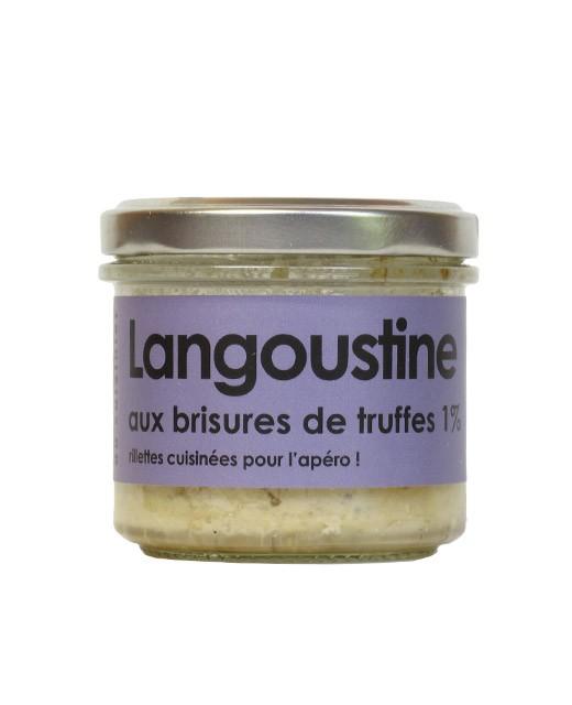 Rillettes de langoustine aux brisures de truffes - L'Atelier du Cuisinier