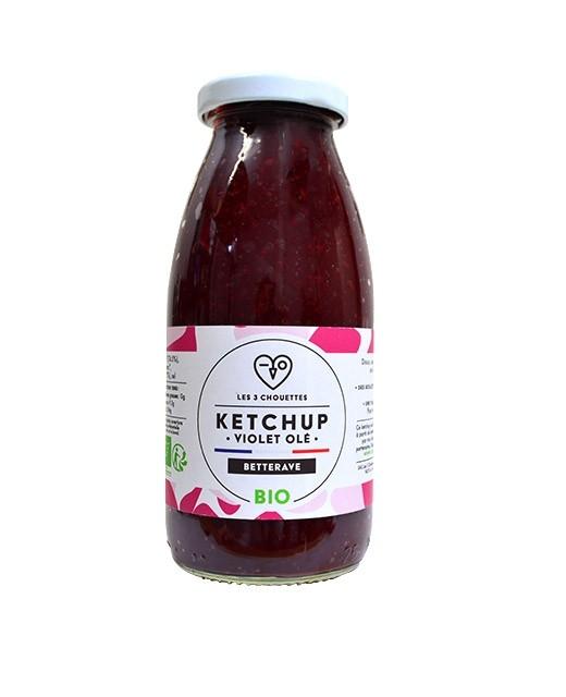 Ketchup de betterave - Violet olé - Les 3 Chouettes