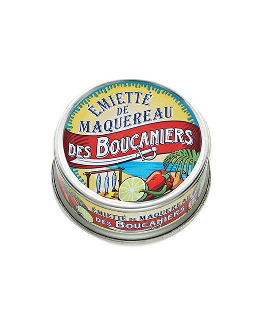 Émietté de maquereau des boucaniers - La Belle-Iloise