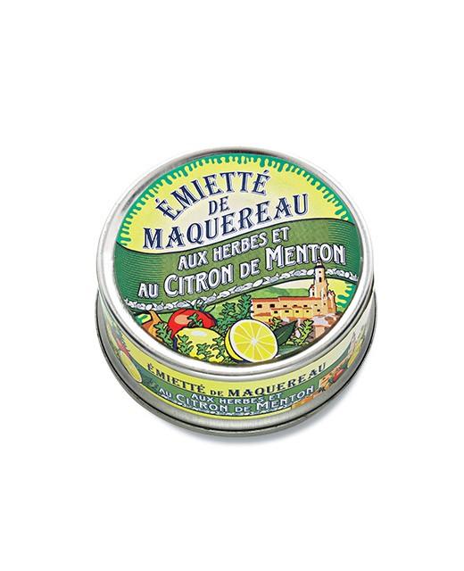 Émietté de maquereau aux herbes et au citron de Menton - La Belle-Iloise