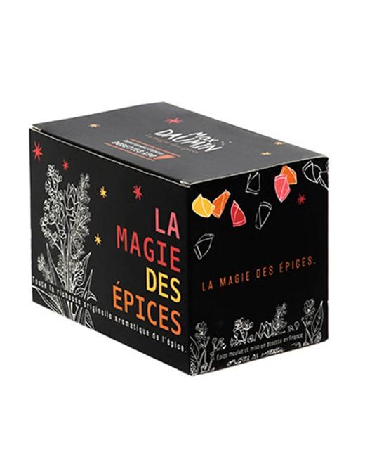 Coffret 20 épices - Spécial marinades et barbecue - Max Daumin