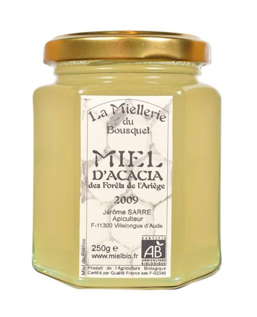 Miel d'acacia bio - Miellerie du Bousquet
