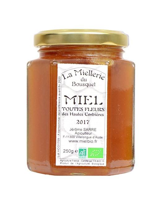 Miel toutes fleurs bio - Miellerie du Bousquet