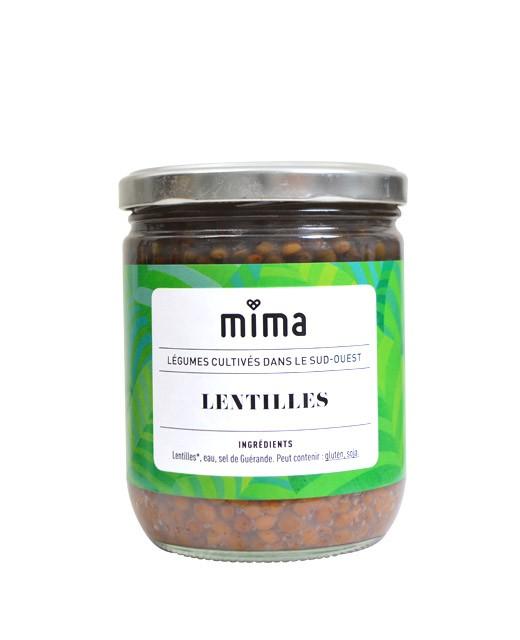 Lentilles bio - Mima Bio