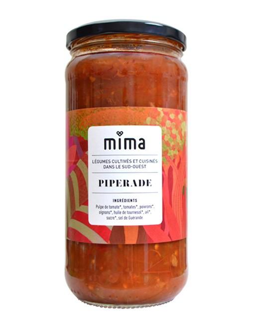 Sauce tomate - Piperade bio  - Mima Bio