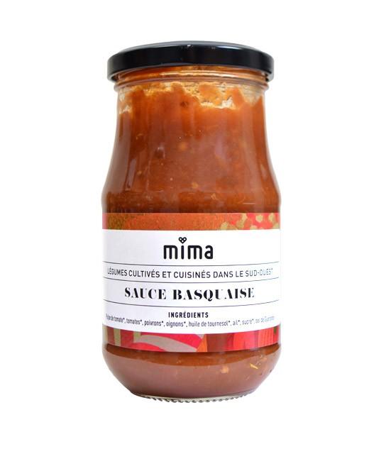 Sauce basquaise bio - Mima Bio