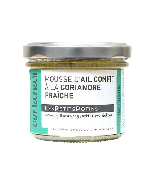 Mousse d'ail confit à la coriandre fraîche - Corianail - Les Petits Potins