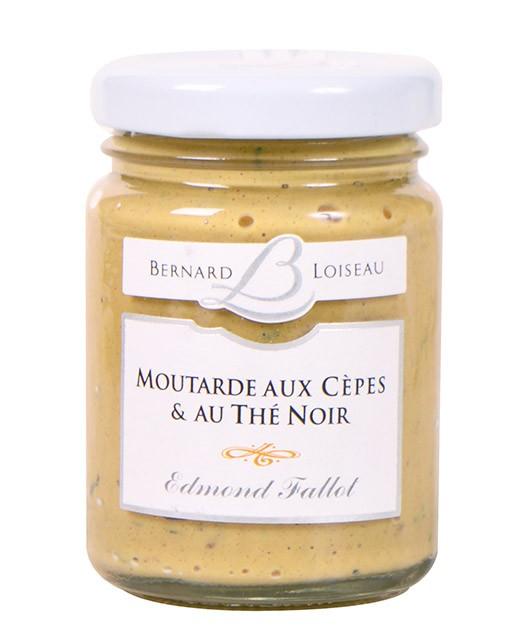 Moutarde aux cèpes et thé noir - Fallot