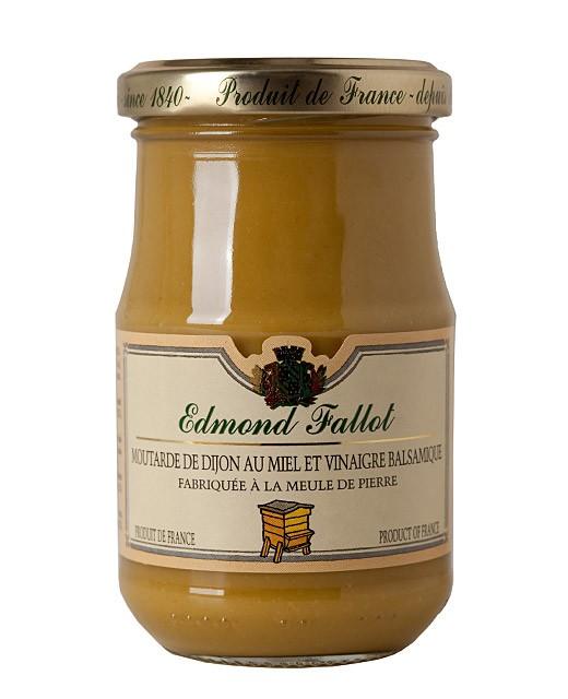 Moutarde de Dijon au miel et vinaigre balsamique - Fallot