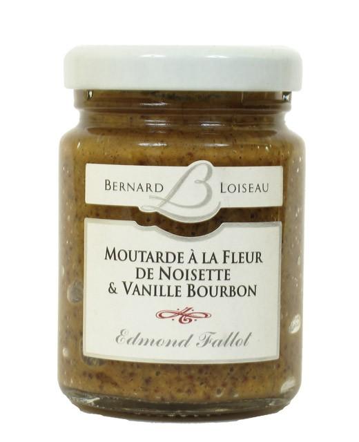 Moutarde à la fleur de noisette et vanille Bourbon - Fallot
