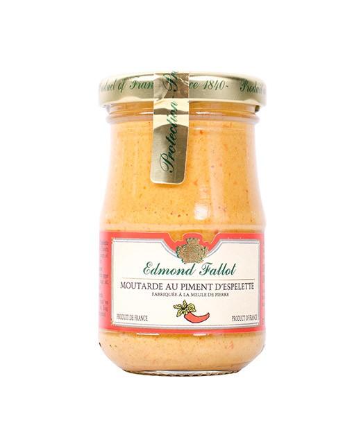 Moutarde au piment d 39 espelette fallot ed lices - Moutarde fallot visite ...