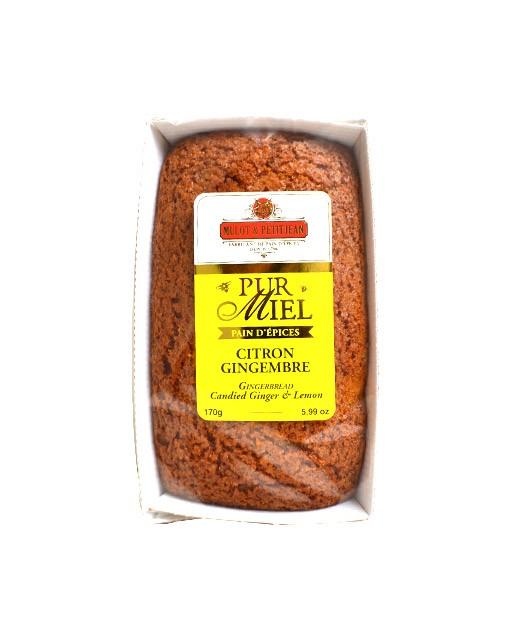 Pain d'épices pur miel - Citron et gingembre  - Mulot & Petitjean