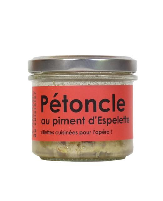 Rillettes de noix de pétoncle au piment d'Espelette - L'Atelier du Cuisinier
