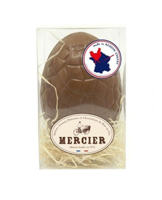 Œuf de Pâques en chocolat au lait - Chocolaterie Daniel Mercier