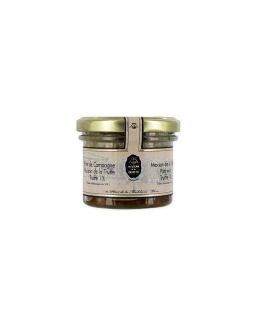 Pâté de campagne truffé - Maison de la truffe