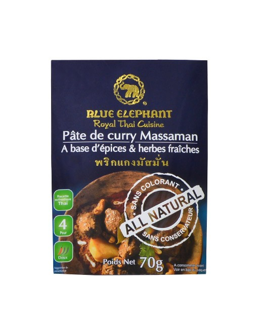 Pâte de Curry Massaman - Blue Elephant