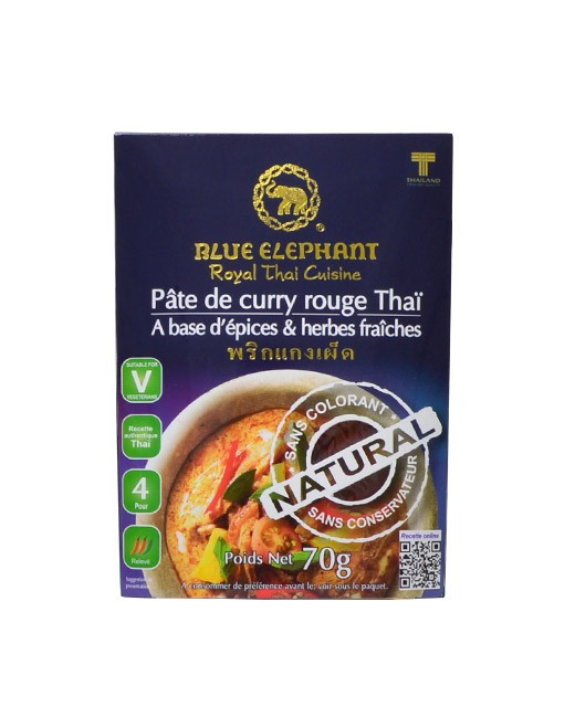 Pâte de Curry Rouge - Blue Elephant
